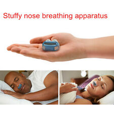 Nose Care Relieve Snoring Help sleep Care Snore Breathing Air Apparatus Red