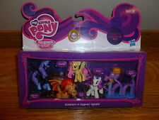 My Little Pony Mini ELEMENTS OF HARMONY FRIENDS Nightmare Moon Fluttershy  Manny