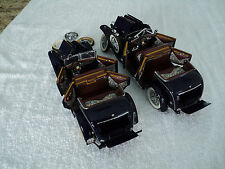 "1926 MERCEDES BENZ MODEL K  ""(2) PARTS CARS"" - 1:24 - FRANKLIN  MINT"