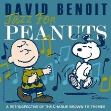 "DAVID BENOIT ""JAZZ FOR PEANUTS"" CD NEU"