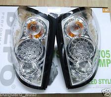 LED Chrome Rear Light Tail Lamp for Mitsubishi L200 Mk5 Warrior pickup 2005-15