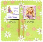 20 PERSONALISED DISNEY PRINCESS RAPUNZEL TANGLED CUP CAKE FLAG Topper Birthday