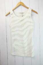 Cream Shirt Top  Gr L  ❤  Leichte, luftige Sommer-Top Netz Optik Neu