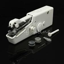 Mini Stitch Handheld Portable Home Travel Fabric Sewing Machine Cordless Mains