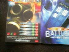 Dr who battles in time test card number 2