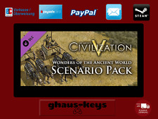 Civilization V Wonders of the Ancient World Scenario Pack Steam Key Pc Game Code