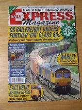 RAIL EXPRESS MAGAZINE JAN 2003 GM CLASS 66 WHISTLER D 345 GNR 150 DONCASTER LOCO