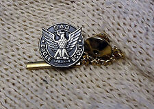 "vintage BOYS SCOUT eagle --- ""D A D"" --- lapel pin / with safety cap!!"