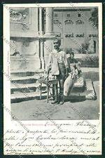 Palermo Costumi Siciliani cartolina QQ0946