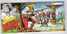 fumetto striscia - IL GRANDE BLEK serie inedita numero 9