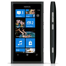 New Nokia Lumia 800 16GB Black Unlocked Windows Smartphone GSM 8.0MP GPS