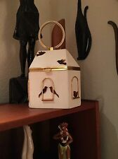 40's Vintage Anne-Marie of Paris France Bird In Birdcage purse RARE!!