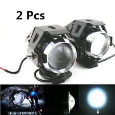 Motorcycle Auto 12V 125W CREE U5 LED Laser Projection Spot Fog Head Light Lamp