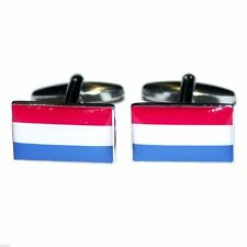 Netherlands Flag Cufflinks X2BOCF017