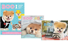 Boo ABC A to Z, Boo Little Dog Big City & Boo Paper Doll Set by J.H. Lee - NEW