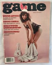 March 1979 Game Magazine Risque Nude Adult Pinup