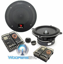 "FOCAL PS130V EXPERT 5.25"" COMPONENT ALUMINUM TWEETERS CROSSOVERS SPEAKERS NEW"