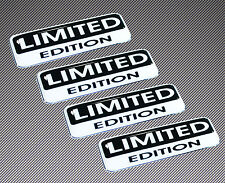 4 x LIMITED EDITION 3D DOMED STICKERS DECAL BADGE CAR PHONE TUNING VW AUDI B6