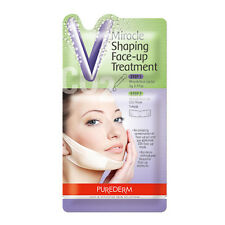 PUREDERM ADS367 Miracle V line face-up CO2 mask pack (5 Pack)