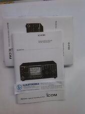 MANUALE IN ITALIANO istruzioni d'uso per ICOM IC-910H