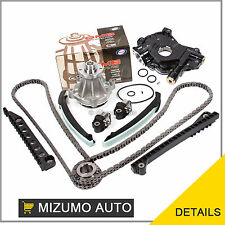 Fit Timing Chain Kit Water Oil Pump 04-08 Ford F150 F250 TRITON 5.4 3-Valve