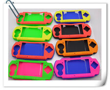 PSP 2000 3000 DOTO dual color Slim Pouch silicone rubber casing cover protect