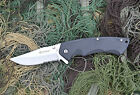 Ganzo G617 Pocket EDC Folding Knife Partial Serrated Blade ABS Handle w/ Clip