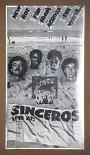 """The Sinceros Vintage """"New Hot Fun From Across the Waves"""" Concert  Promo Poster"""