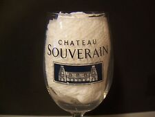 Chateau Souverain Winery Cellars Napa Valley, CA  Wine Tasting Glass
