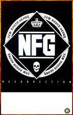 NEW FOUND GLORY Resurrection 2014 Ltd Ed New RARE Poster +FREE Punk Rock Poster!