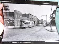 1947 Flushing & Classon Clinton Hill Trolley Brooklyn New York City Photo 8x10