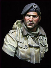 British Tank Crew WWII | 1:10  Resin Bust | Unpainted 003