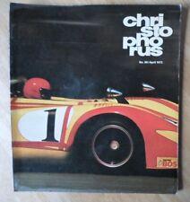 PORSCHE Christophorus ORIG di fabbrica rilasciato RIVISTA BROCHURE-Issue 98 1972