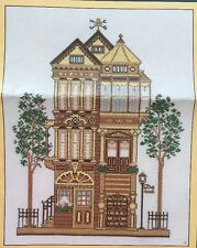 Victorian House Vintage 1983 Sunset Counted Cross Stitch Kit Opened Complete