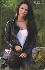 TRANSFORMERS ~ REVENGE OF FALLEN MEGAN FOX LEATHER 22x34 MOVIE POSTER Pinup