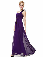 Dress Party Formal Evening Prom Gown Long Chiffon Bridesmaid Ball Size Wedding 6
