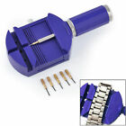 Bracelet Wrist Watch Band Adjuster Repair Tool Set Link Strap Remover + 5 Pins J