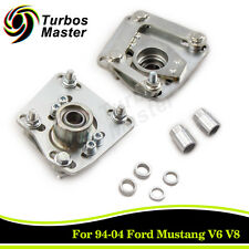 For 94-04 Ford Mustang V6 V8 GT Pair Camber Caster Plates Alignment Adj. Steel