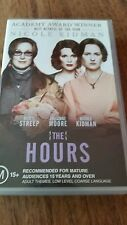 THE HOURS - NICOLE KIDMAN, MERYL STREEP & JULIANNE MOORE -  VHS VIDEO