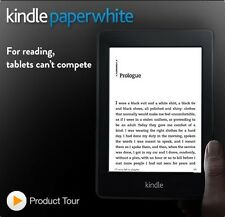 7th Generation Amazon Kindle Paperwhite 4 GB, Wi-Fi, 6in - Black eReader 300 PPI
