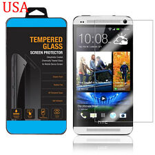 9H TEMPERED GORILLA GLASS SCREEN PROTECTOR For HTC One M7 USA