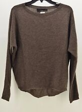 360 Cashmere Women's Brown SWEATER Size SMALL
