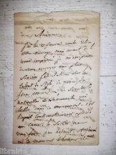 ✒ L.A.S. Joseph MERY écrivain ami Dumas Nerval - félicite une dame