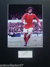 GENUINE GEORGE BEST signed AUTOGRAPH Manchester United Man Utd