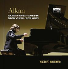 CHARL. ALKAN / VINC. MALTEMPO - CONCERTO FOR PIANO SOLO & COMME LE VENT CD NEU