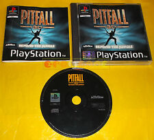 PITFALL 3D BEYOND THE JUNGLE Ps1 Versione Italiana 1ª Edizione ○○○○ COMPLETO