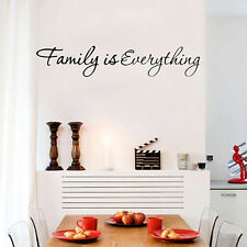 Family Quote wall vinyl decals stickers DIY Art Decor Decal Removable Home Mural