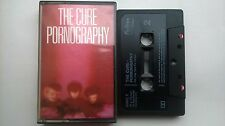 THE CURE PORNOGRAPHY UK CASSETTE FICTION FIXDC7 1982 GOTH ROBERT SMITH LYRICS
