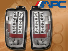 APC LED TAIL BRAKE LAMPS LIGHTS PAIR CLEAR LENS FOR 97-02 FORD EXPEDITION