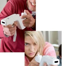 Nunchuck Zapper Gun+Motion Plus Remote+case for Nintendo Wii White